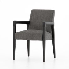 Ives Black Cover Reuben Dining Chair