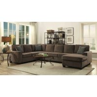 Provence Transitional Brown Sectional Product Image