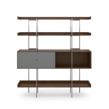 5201 Shelf in Toasted Walnut Fog Grey