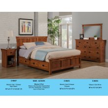 O-M468-Q/CK/EK Mission Elevated Pedestal Bed