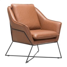 Lincoln Lounge Chair Saddle