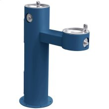 Elkay Outdoor Fountain Bi-Level Pedestal Non-Filtered, Non-Refrigerated Freeze Resistant Blue