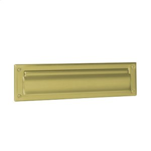 Door Accessories  Mail Slot - Bright Brass Product Image