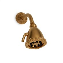 Antique Gold Acanthus Shower Head