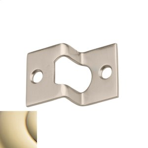Lifetime Polished Brass Rabbeted Guide Product Image
