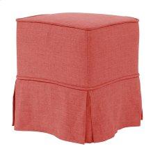 Universal Cube Linen Slub Poppy - Skirted
