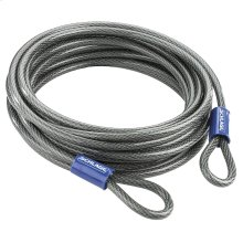 "Double Loop Cable  30' x 3/8"" Steel Cable - No Finish"