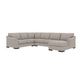 Bantry Nuvella® - Slate 4 Piece Sectional