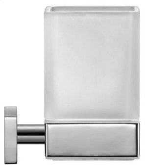 Glass Holder, Chrome Product Image