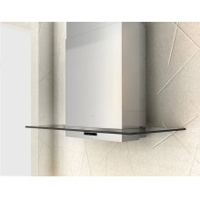 Surface, Wall, 90cm, SS/ Gray Glass, BODY ONLY