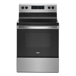 5.3 cu. ft. Whirlpool® electric range with Frozen Bake technology Product Image