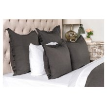 Harlow Charcoal 3Pc Queen Set