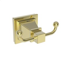 Forever Brass - PVD Double Robe Hook