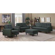 Kesson Mid-century Modern Charcoal Sofa