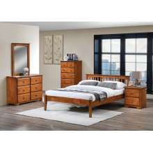 Mission Footboard (Used as Low Headboard)
