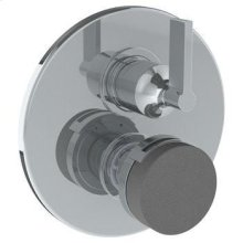 """Wall Mounted Thermostatic Shower Trim With Built-in Control, 7 1/2"""" Dia."""