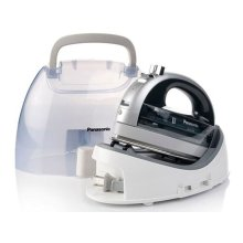 Cordless 360° Freestyle Steam/Dry Iron with Curved Stainless Steel Soleplate