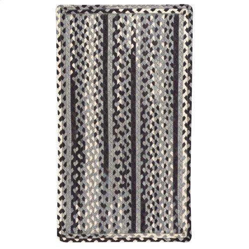Garrison Pepper Braided Rugs (Custom)