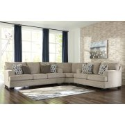 Dorsten - Sisal 3 Piece Sectional Product Image