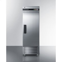 23 CU.FT. Commercial Reach-in Refrigerator In Complete Stainless Steel