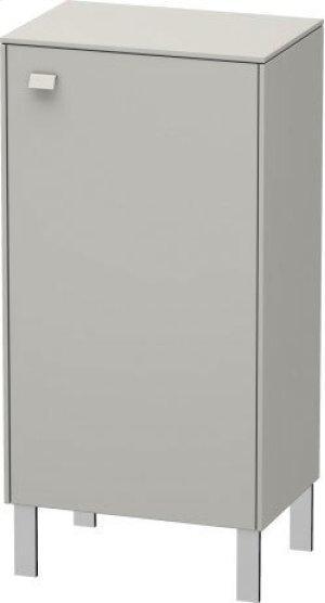 Semi-tall Cabinet Individual, Concrete Gray Matte (decor) Product Image