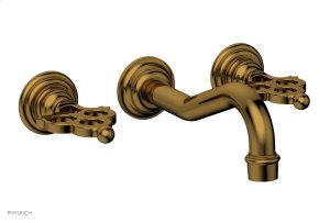 MAISON Wall Tub Set 164-56 - French Brass Product Image