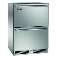 "24"" Outdoor Dual-Zone Freezer/Refrigerator Drawers"