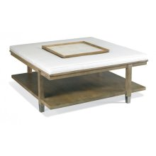Westwood Cocktail Ottoman With Tray