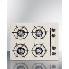 """24"""" Wide Cooktop In Bisque, With Four Burners and Gas Spark Ignition; Replaces Stl033 Product Image"""
