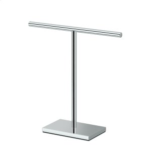 Counter Top Hand Towel Holder in Chrome Product Image