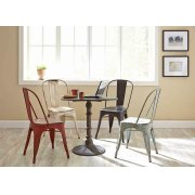 Bellevue Rustic Red Dining Chair Product Image