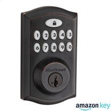 SmartCode 914 Contemporary Deadbolt Amazon Key Edition - Venetian Bronze