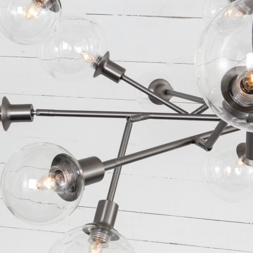 Pellman 2 Tier Chandelier-matte Natural