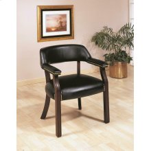 Traditional Black Office Chair