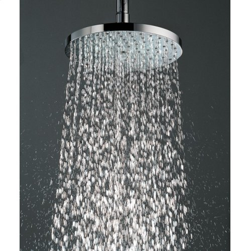 Brushed Nickel Showerhead 180 1-Jet, 2.5 GPM