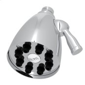 "Polished Chrome 3 1/2"" Calliano Adjustable Showerhead"