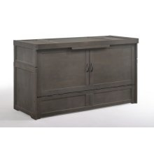 Murphy Cube / Murphy Cube 2 * Cabinet Bed in Stonewash Finish
