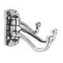 Decorative Triple Swivel Hook in (Decorative Triple Swivel Hook - Solid Brass)