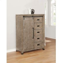 Meester Rustic Barn Door Chest