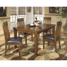 Ralene - Medium Brown 5 Piece Dining Room Set