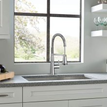Edgewater Semi-Professional Kitchen Faucet with SelectFlo  American Standard - Polished Chrome