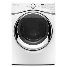 7.4 cu. ft. Duet® Steam Dryer with SilentSteel Dryer Drum White