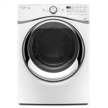 7.4 cu. ft. Duet® Steam Dryer with SilentSteel Dryer Drum White