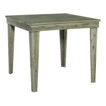 42X42 ASPEN PUB HEIGHT DINING TABLE IN GRAY WASH Product Image