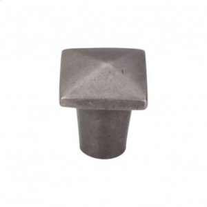 Aspen Square Knob 3/4 Inch - Silicon Bronze Light Product Image