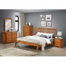 Mission King Headboard