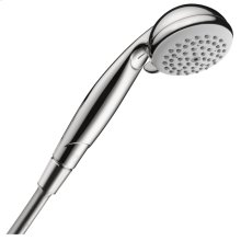 Chrome Handshower E 75 1-Jet, 1.5 GPM