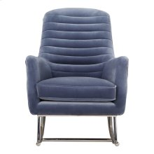 Lars Rocking Chair Blue