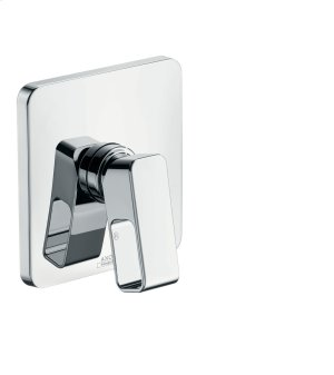Chrome Single lever shower mixer for concealed installation Product Image