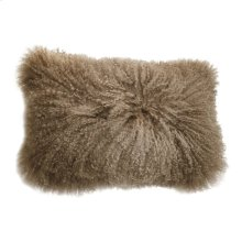 Lamb Fur Pillow Rect. Natural